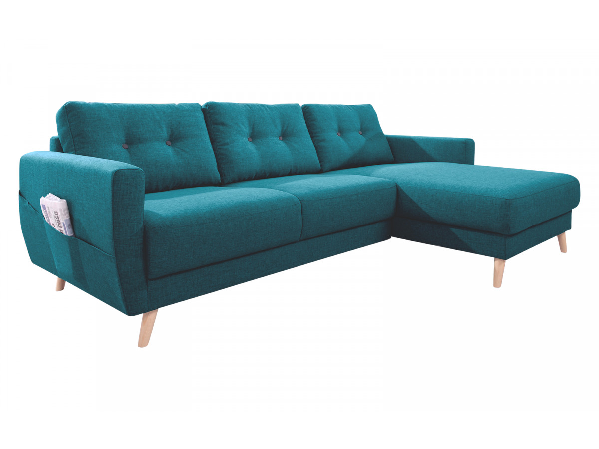 Canapé d'angle fixe SCANDI