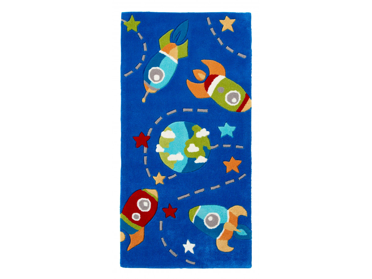 Tapis ROZENN KID Bleu 70 x 140