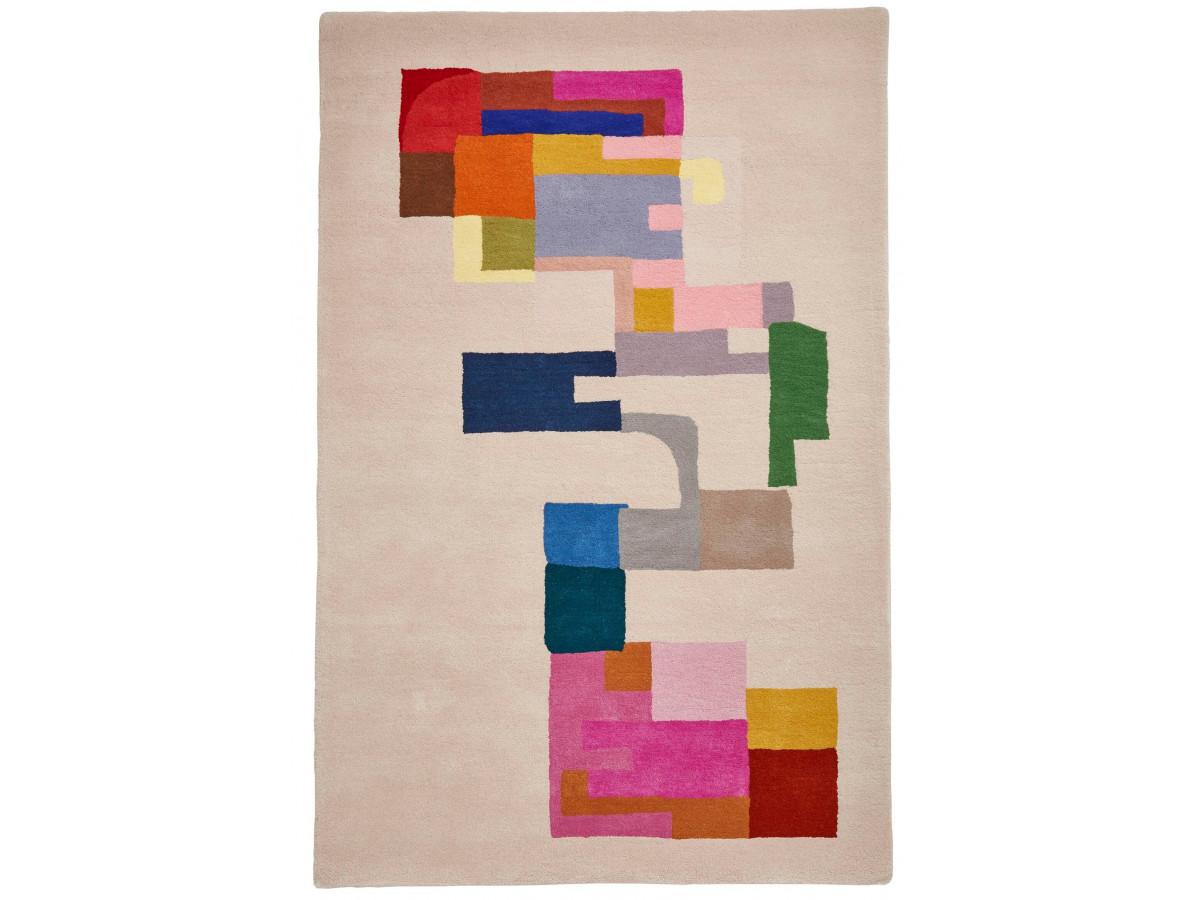 Tapis PERIG Multicolor / Ivoir / Rose 150 x 230