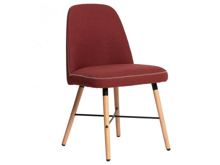 Ensemble de 2 chaises MITIO Rouge
