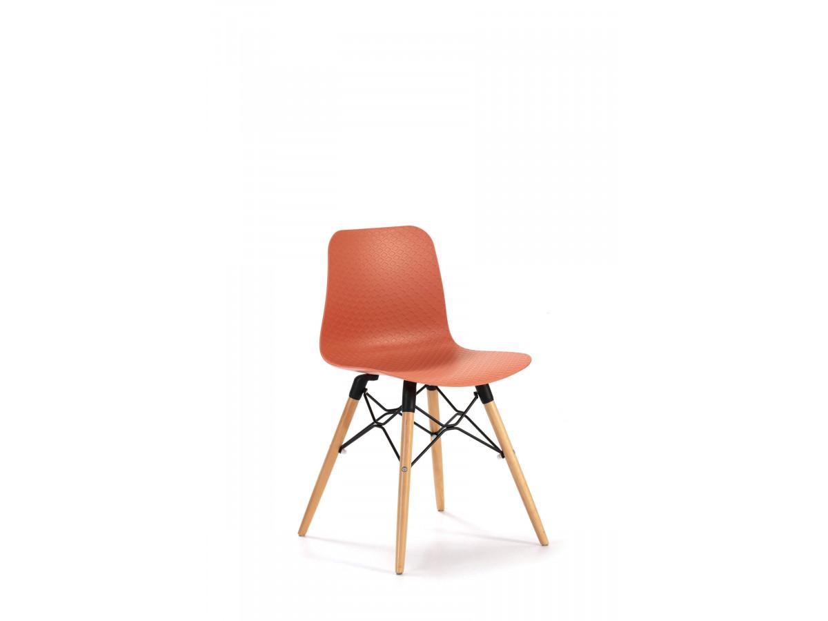 Ensemble de 4 chaises HITA Orange