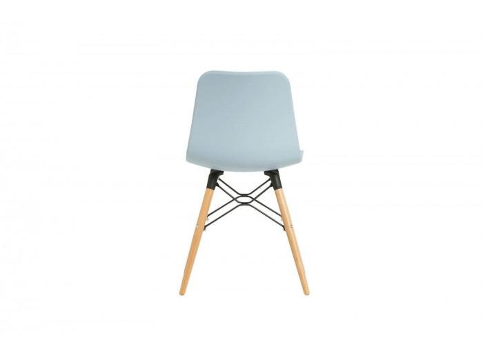 Ensemble de 4 chaises HITA Bleu clair