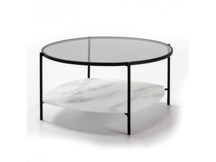 Table basse DORI Noir et Blanc