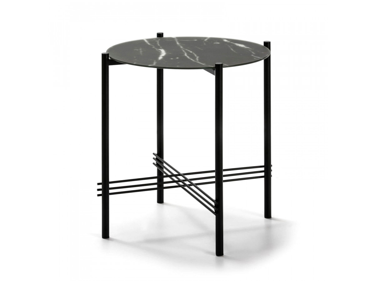 Table d'appoint LONI noir