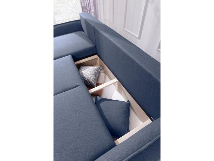 Canapé d'angle LENA convertible réversible