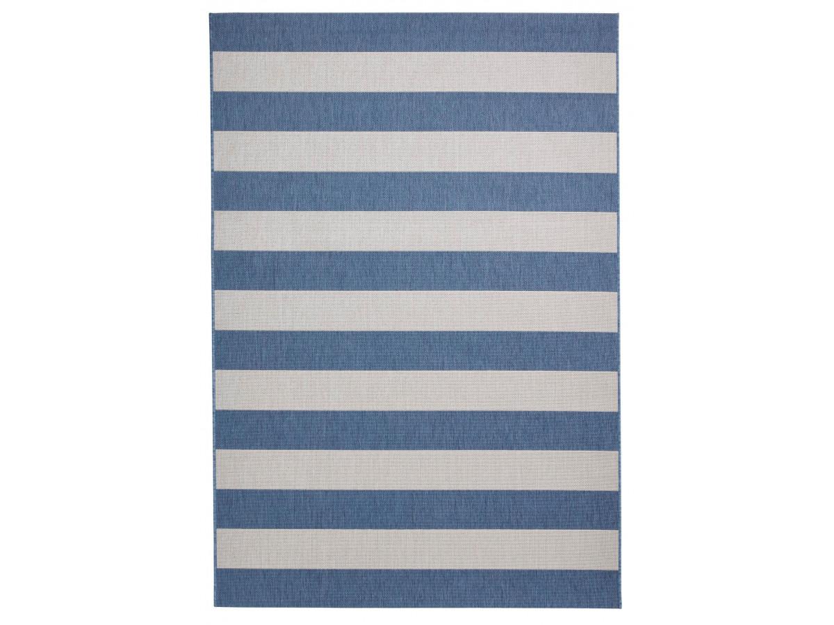 Tapis MOSA Bleu / Beige Clair 120 x 170