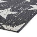 Tapis MOSA 1 Noir / Blanc 120 x 170