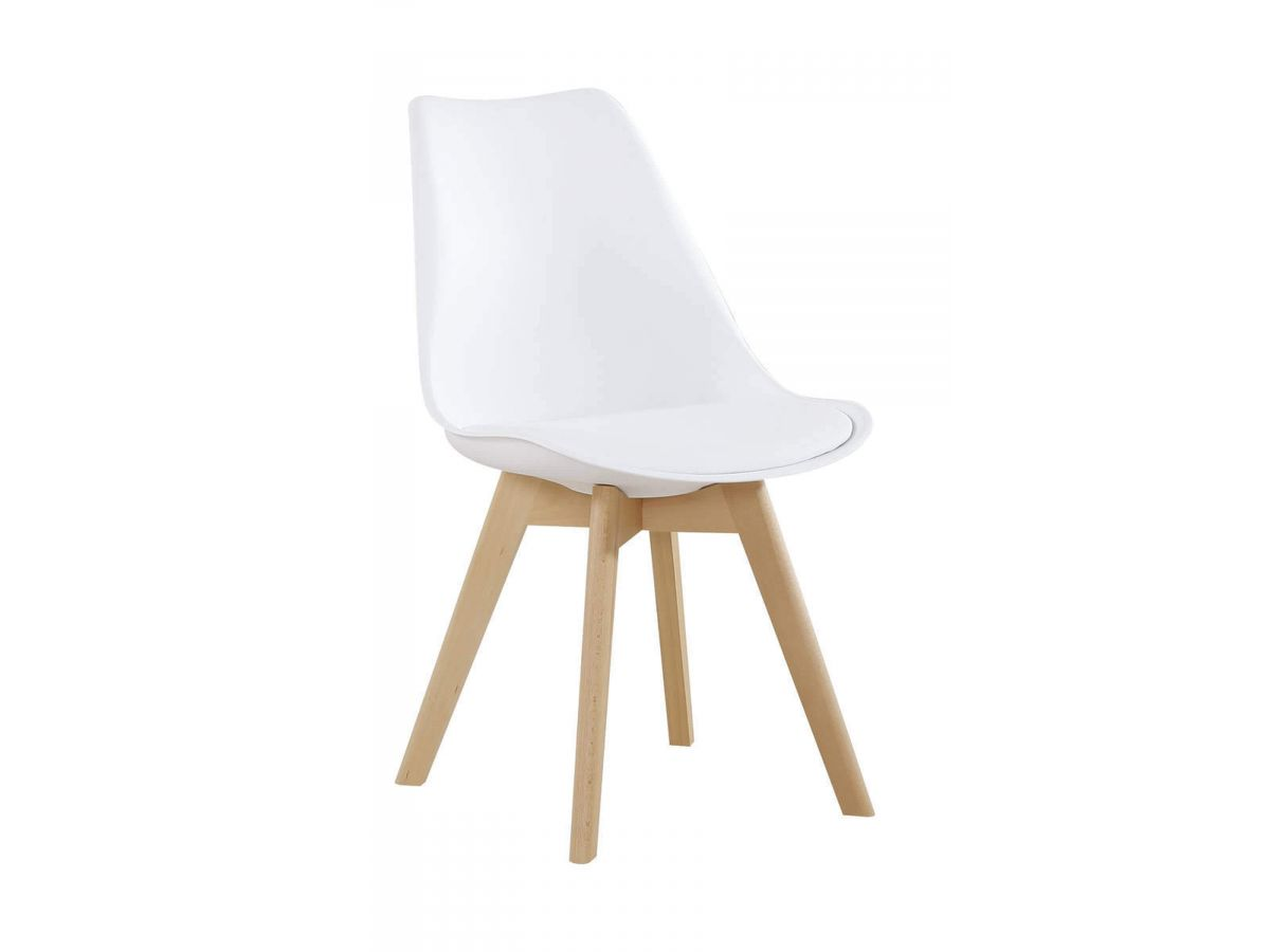 Lot de 2 chaises KABRIO Blanc