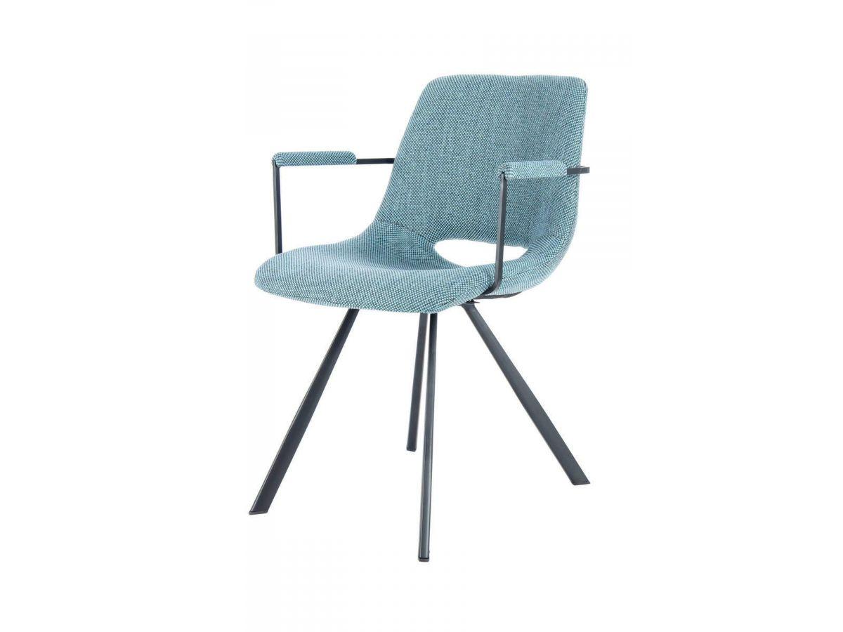 Lot de 2 chaises WENDY Bleu