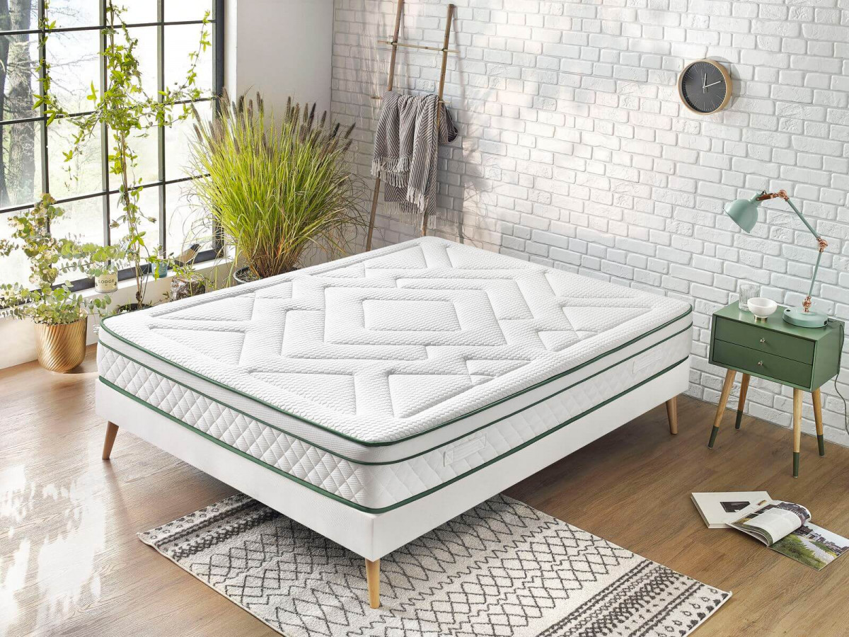 Matelas ARUNA 180x200 100% Latex naturel