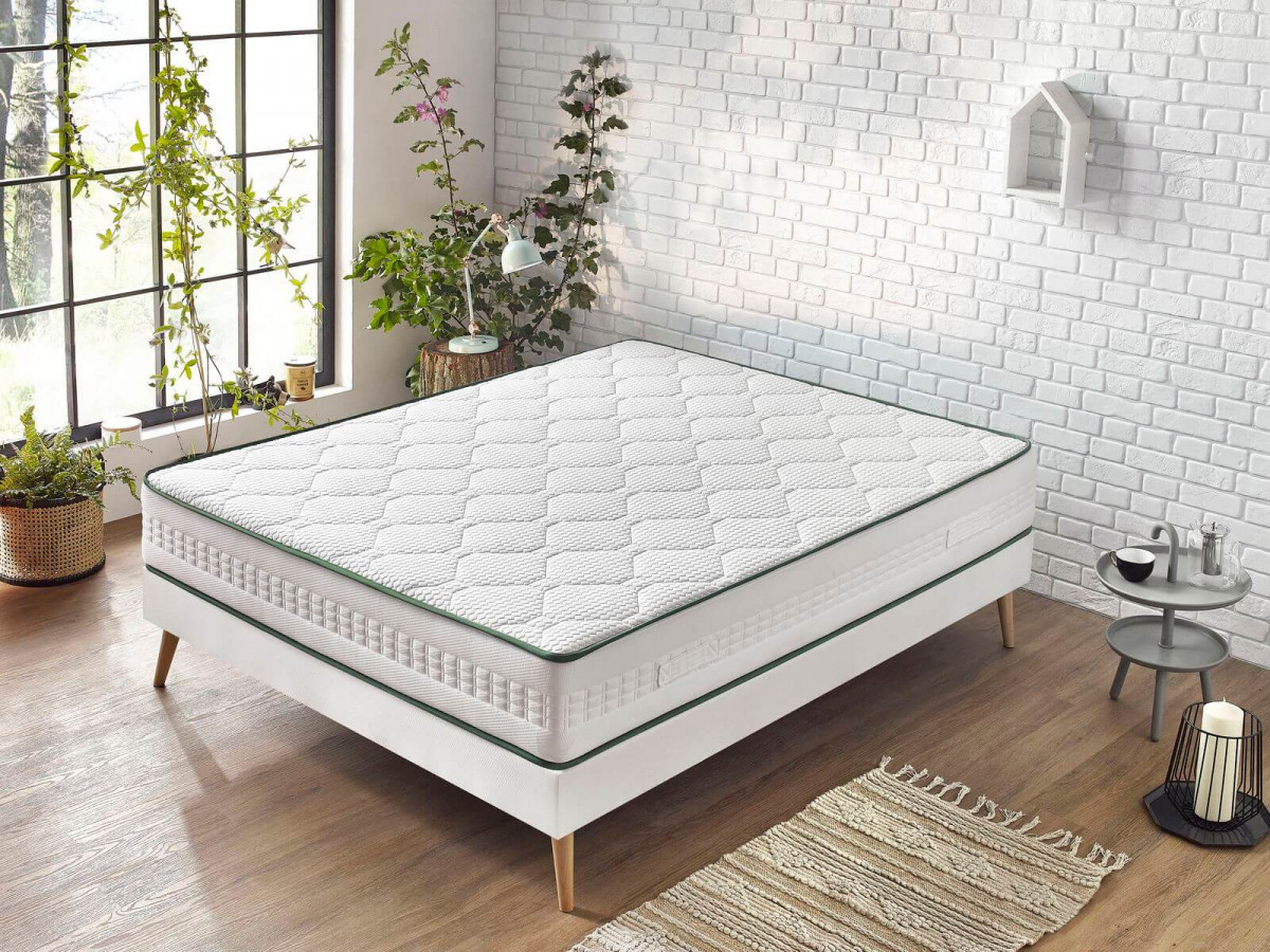 Matelas ELON 160x200 latex 100% naturel