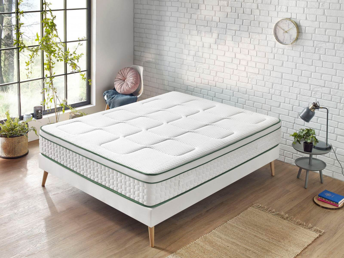 Matelas YUMA 160x200 100% Latex naturel