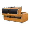 Canapé droit convertible ROSY ouverture express
