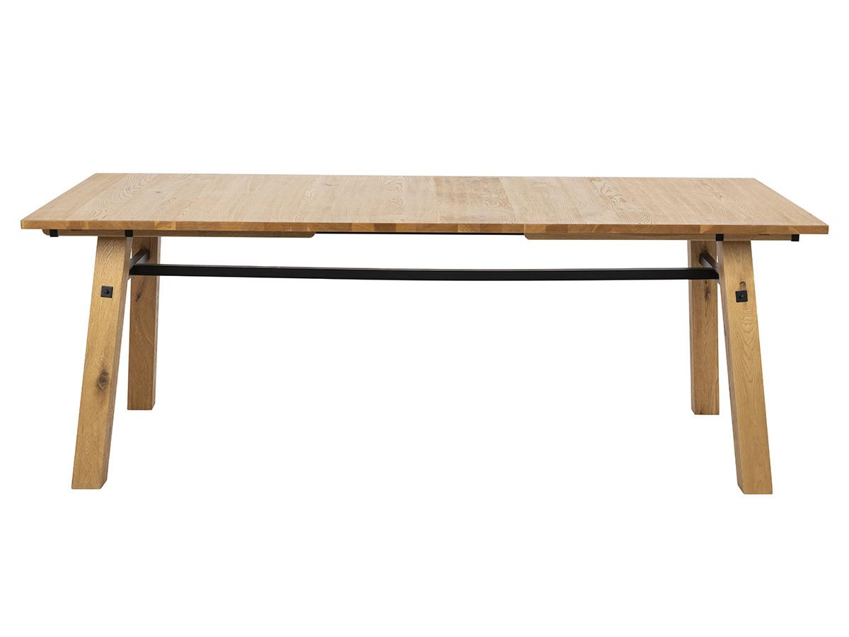 Table à manger 210 cm ATELIER placage en chêne