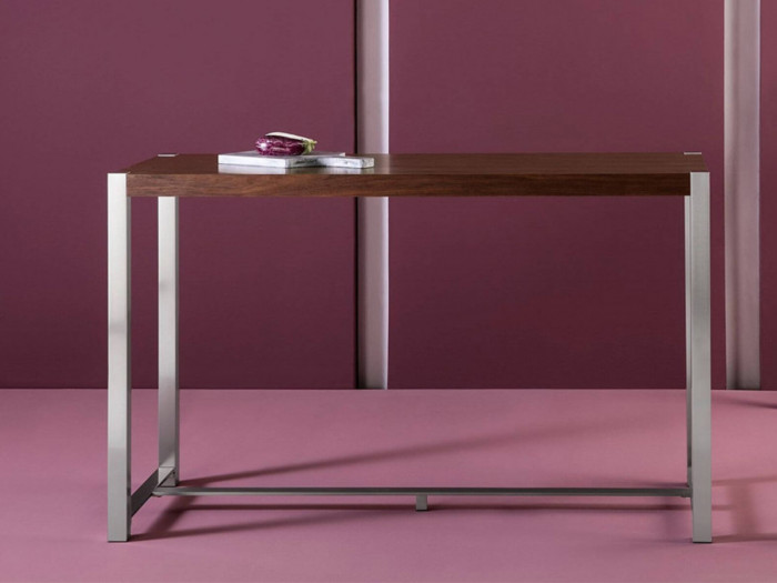 Table de bar 160x60 MIRKA Noyer