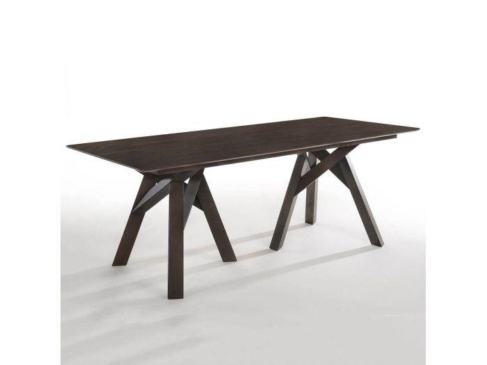 Table CALANK 200 x 75 x 90 cm Gris