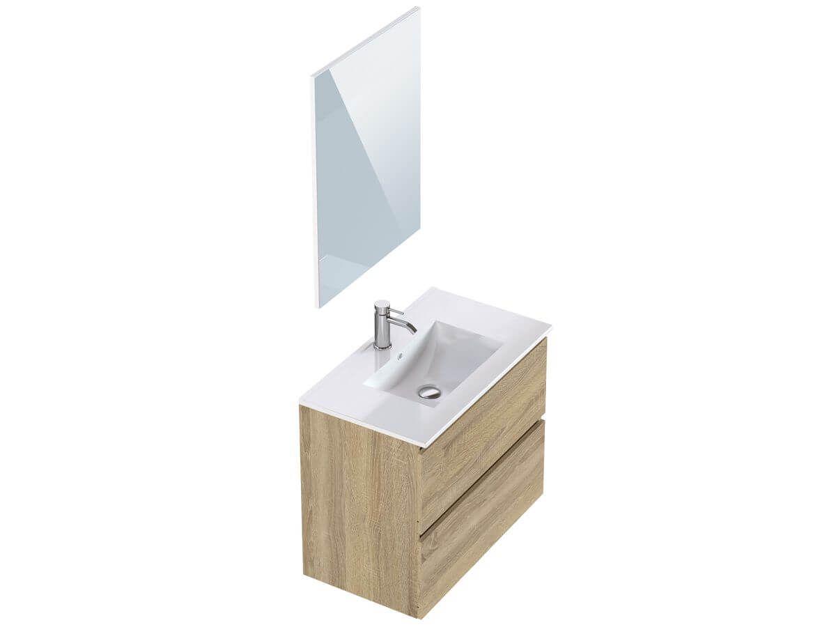 Meuble de salle de bain 80 cm LUANA