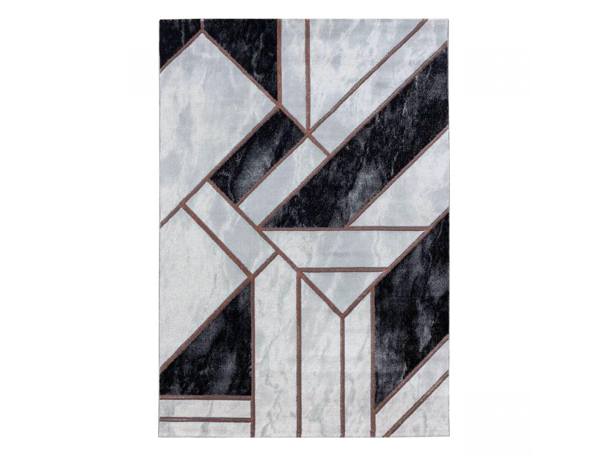 Tapis poils mi-courts KONOS 3 motif shaggy