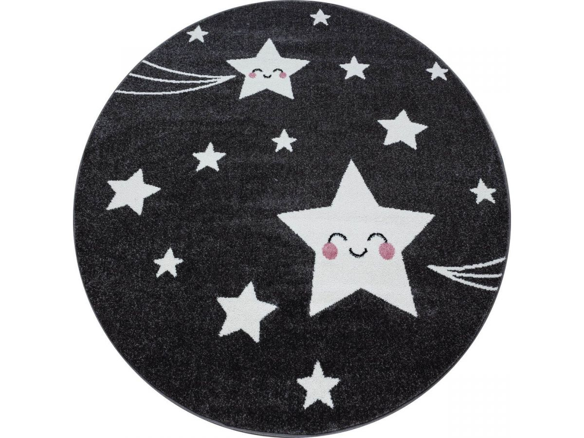 Tapis enfant rond CANDIES 8