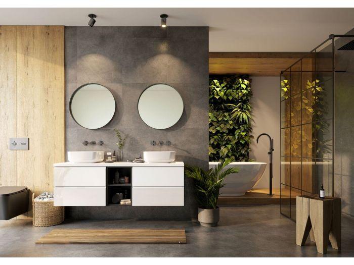 Ensemble de salle de bain 150 cm MIYO et colonne