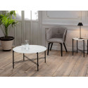 Table d'appoint LONI blanc
