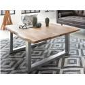Table basse 120 x 80 cm GIULIA bois naturel