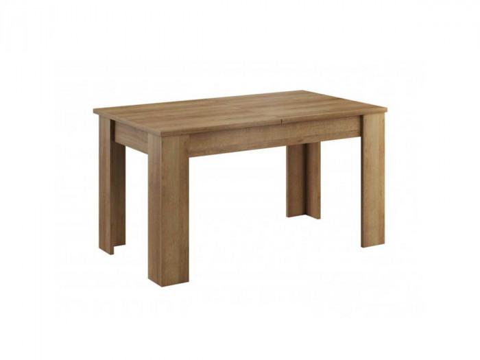 Table extensible 140/180 cm SKYLINE Couleur Bois Chêne