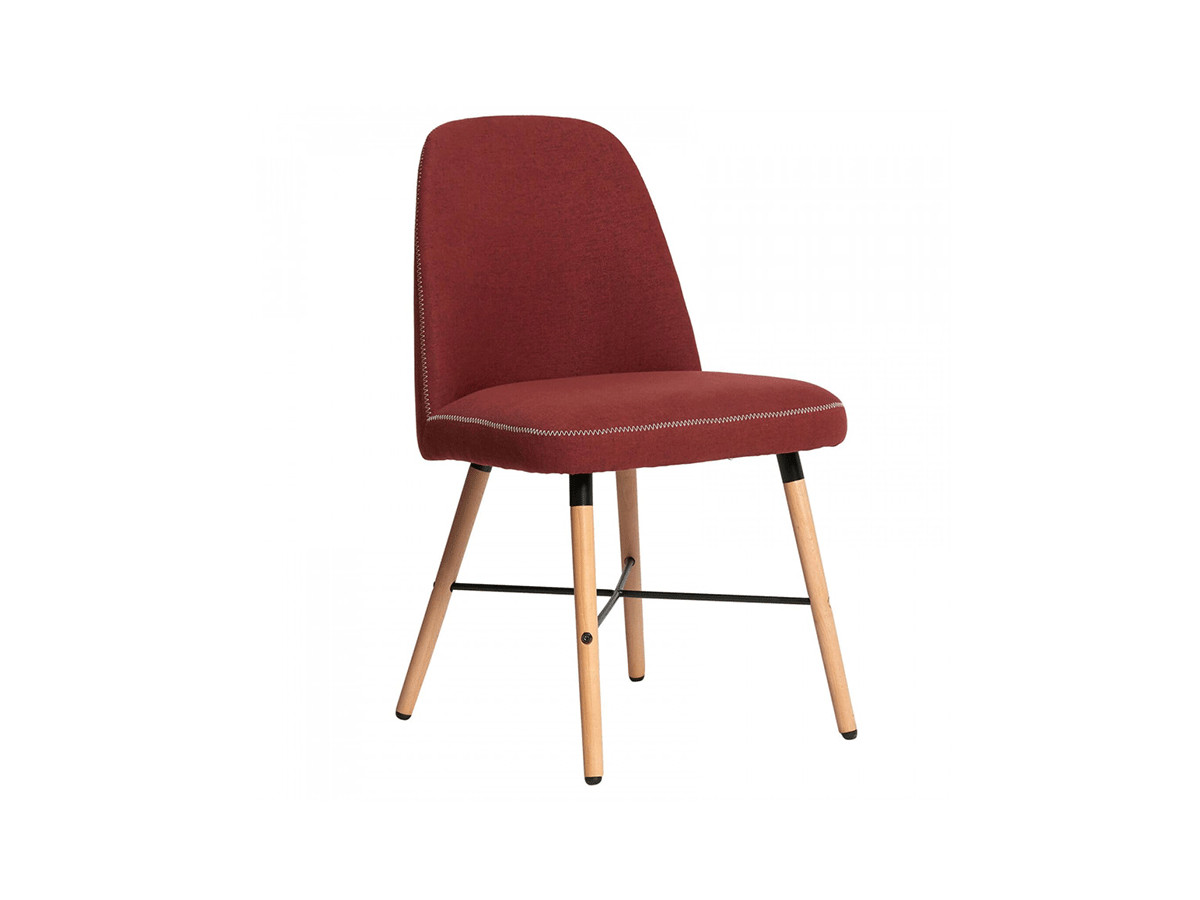 Ensemble de 2 chaises MITIO Rouge