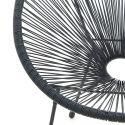 Ensemble de 2 chaises de jardin BERLIN