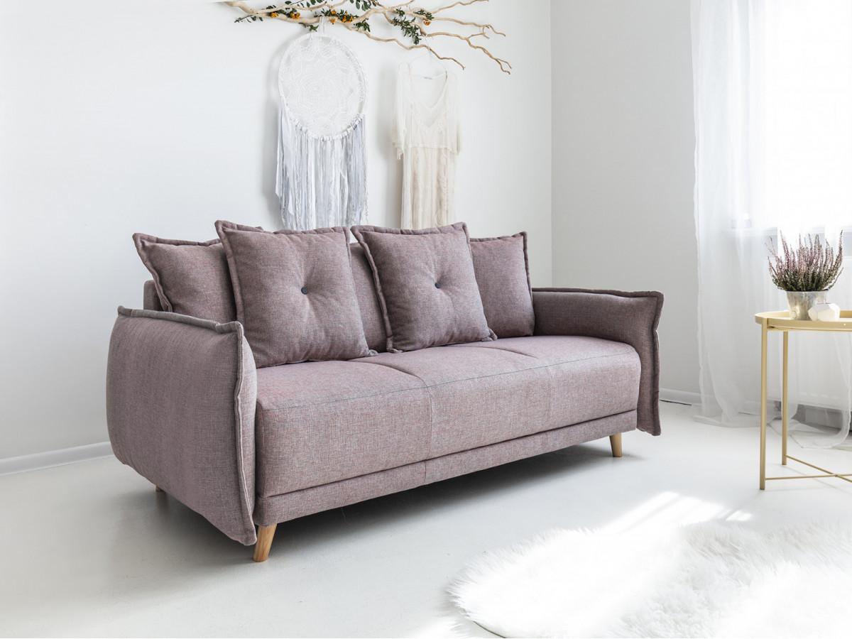 Canapé 3 places fixe LENA
