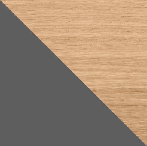 Chêne et gris anthracite