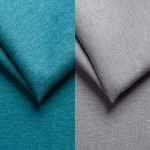 Bleu et gris clair